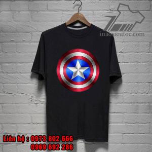 áo phông siêu anh hùng captain america đẹp độc - inaosieutoc ở long an