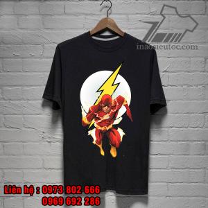 áo phông siêu anh hùng flas đẹp rẻ - inaosieutoc ở quảng bình