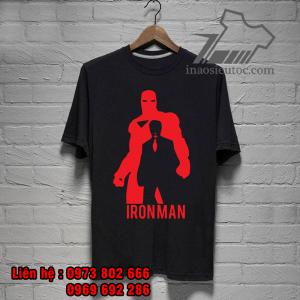 áo phông siêu anh hùng iron man độc đẹp giá rẻ - inaosieutoc bình định
