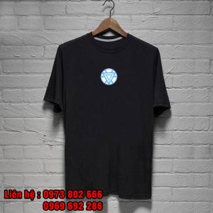 áo phông siêu anh hùng iron man đẹp chất lượng - inaosieutoc ở quảng ninh