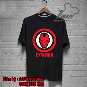 áo phông siêu anh hùng iron man cực độc - inaosieutoc ở bình dương