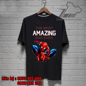 áo phông siêu anh hùng spider man giá rẻ duy nhất - inaosieutoc ở thanh hóa