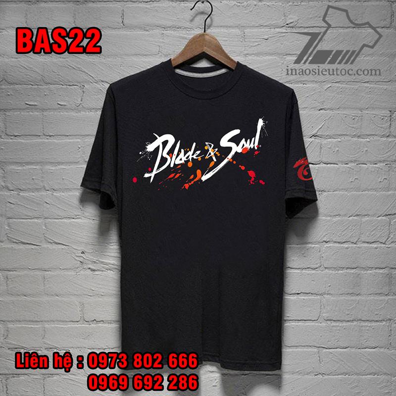 Áo phông game Blade & Soul uy tín, chất lượng