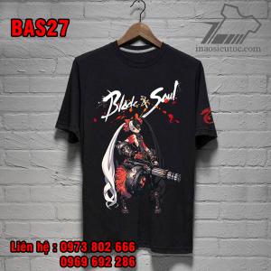 Áo thun đen Blade And Soul giá tốt nhất ở Hải dương
