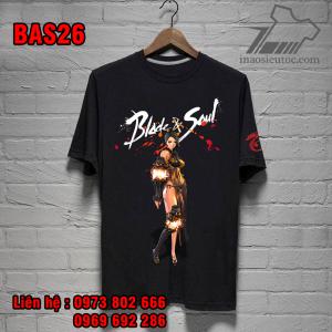 Áo thun đen Blade And Soul giá rẻ, uy tín ở bình định