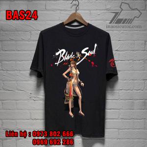 Áo thun đen Blade And Soul chất lượng ở quảng ngãi