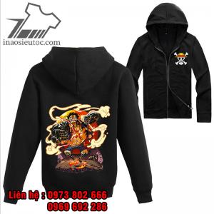 Áo khoác đen One Piece Luffy, đẹp nhất ở quảng trị