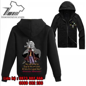 Áo khoác đen One Piece Mihawk, đẹp chất lượng ở lạng sơn