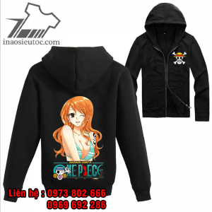 Áo khoác đen One Piece Nami, giá rẻ hấp dẫn ở sơn la