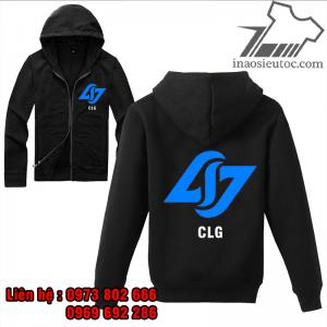 Áo khoác đen Team CLG - CSGO độc đẹp giá rẻ ở hà nội