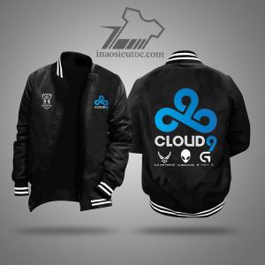 Áo khoác đen team Cloud 9đẹp chất lượng ở vũng tàu