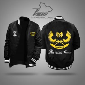 Áo khoác đen team Gigabyte Marines đẹp, giá rẻ ở hà nội