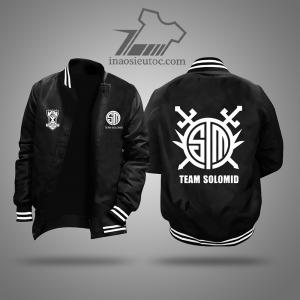 Áo khoác đen team Team SoloMid giá rẻ duy nhất ở hải phòng
