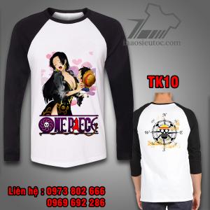 Áo dài tay One Piece boa hancock - luffy hải phòng