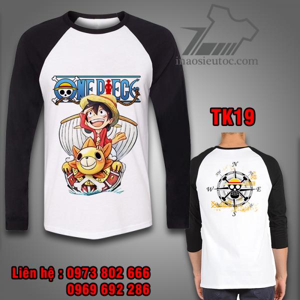 Áo dài tay One Piece Luffy Thuyền giá rẻ, chất lượng ở tp hcm
