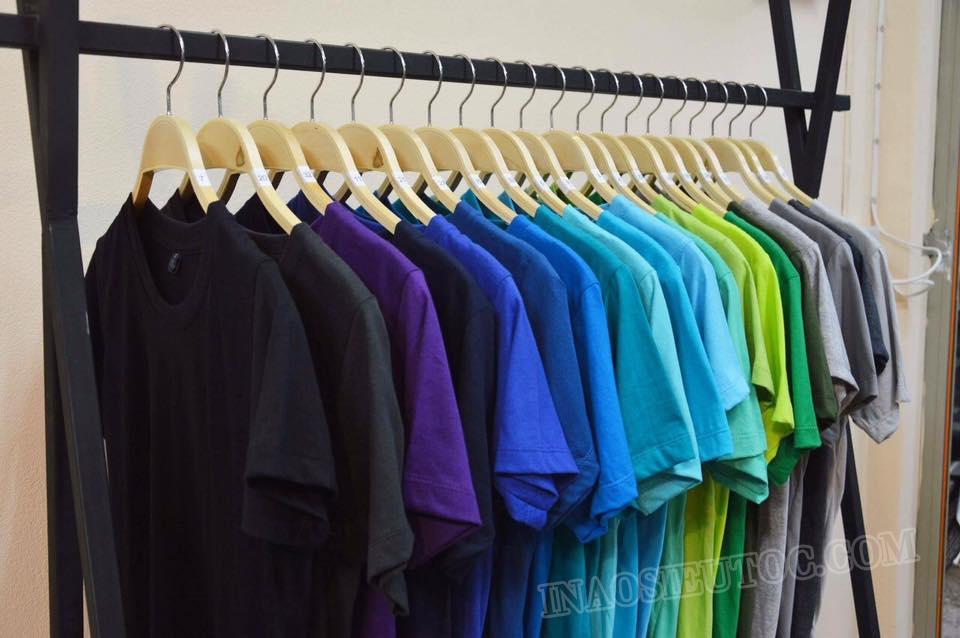 Bán buôn bán lẻ áo phông trơn – inaosieutoc.com