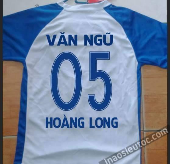 Dịch vụ in chữ, số bóng đá lên áo đấu tại Hà Nội