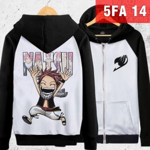 Áo khoác Fairy Tail Natsu - In áo Natsu Fairy Tail theo yêu cầu
