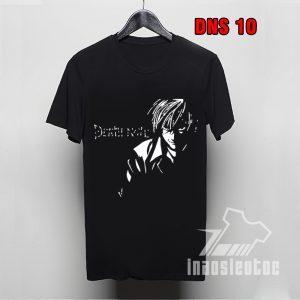 Áo thun đen Deathnote ngắn tay phong cách tại inaosieutoc.com