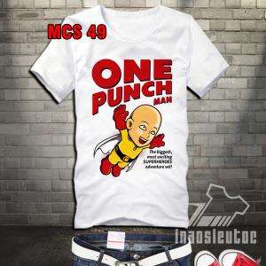 Địa chỉ in áo anime one one punch man theo yêu cầu giá rẻ