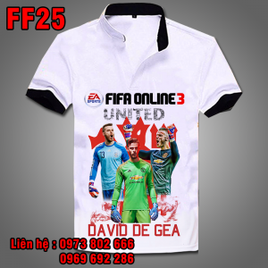 Áo phông De Gea - Fifa Online 3