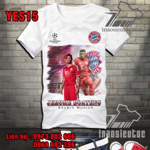 Áo bóng đá Bayern Munich Boateng giá tốt nhất ở tphcm