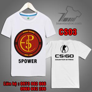 Áo Game CS GO team 5power giá rẻ ở đà nẵng