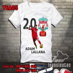 Áo bóng đá Liverpool lallana đẹp rẻ ở hà tĩnh