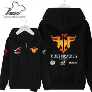 Áo khoác đen FFQ giá rẻ tại Hà Nội