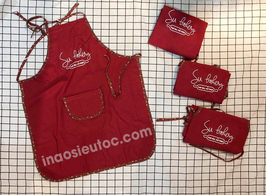 May in tạp dề giá rẻ đẹp nhanh 1 chiếc cũng in ở hà nội-inaosieutoc.com
